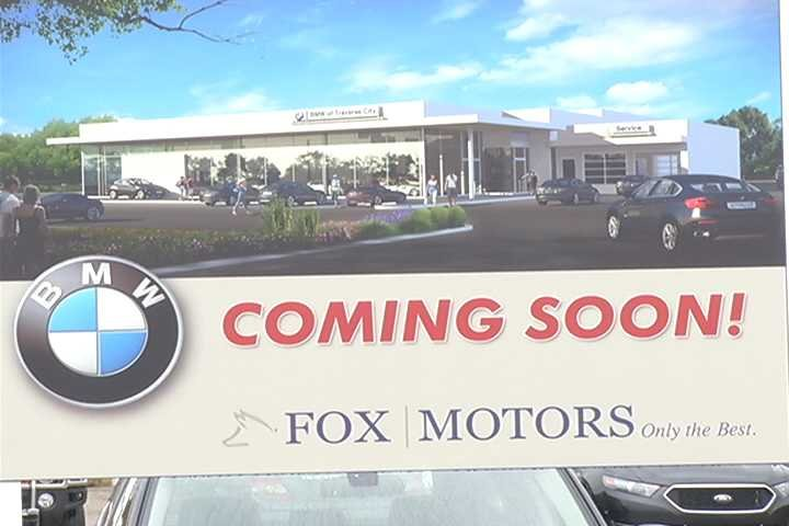 fox motors breaks ground on new bmw dealership in traverse