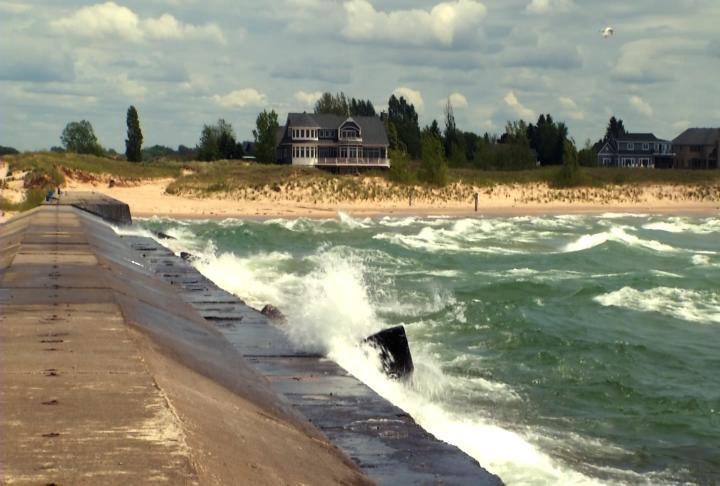 Water Warning For Beaches Along Lake Michigan Northern